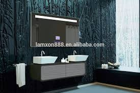 high end bathroom mirrors extraordinary bathroom high end hotel mirror with radio and mp3