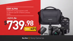 camera deals black friday sony cameras black friday deals best buy black friday 2016