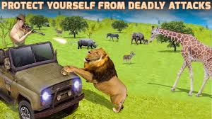 safari jeep cartoon sniper safari jeep animal hunt android apps on google play