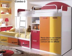 Cartoon Bunk Bed by Convertible Bunk Bed Couch Decorate My House