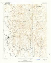 Santa Fe Map Image Of The 1889 Santa Fe New Mexico 30 Minute Series Quadrangle
