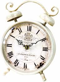 Feminine Clock - 5 best vintage clocks beautiful clocks tool box