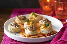 food canapes vol au vent selection recipe goodtoknow