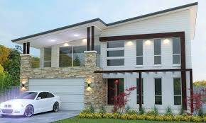 Two Bedroom Design Two Storey Bedroom House Plan Modern Two Storey Design Two Bedroom