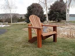 Western Red Cedar Outdoor Furniture by Wood Country Western Red Cedar Wood Handcrafted Adirondack Chair