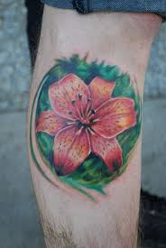 Leg Flower - 67 tattoos with meaning