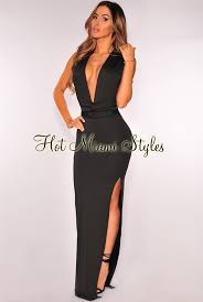 fitted dresses slit multi wear fitted maxi dress