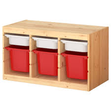 trofast storage combination with boxes ikea to use as a bench