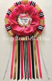 24 best baby shower corsages images on pinterest baby shower