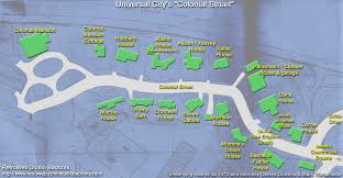 Universal Park Map Universal City An Image Gallery Colonial And New England Streets