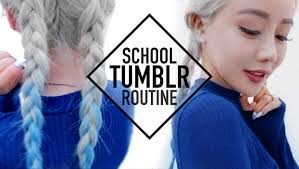hair and makeup school baddie school routine makeup hair and wengie