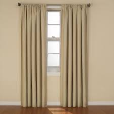 Eclipse Nursery Curtains Eclipse Kendall Blackout Cafe Curtain Panel 84 In Length