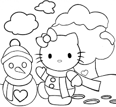 hello kitty halloween coloring pages getcoloringpages com page