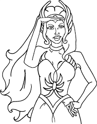 shera coloring pages man coloring books with he and she ra