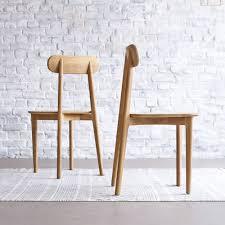möbel stühle esszimmer stuhl teakholz helles massives holz jonàk wohnzimmer esszimmer neu