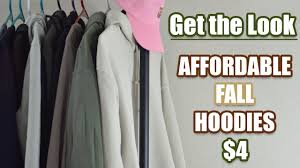 cheap alternatives for expensive trendy hoodies youtube
