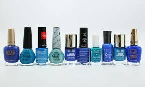 my top ten blue drugstore nail polish favorites vampy varnish