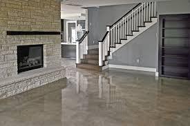 light stained concrete floors interior concrete studio