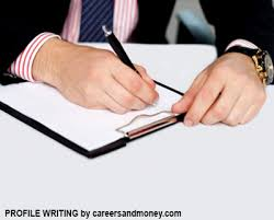 profile writing careersandmoney com