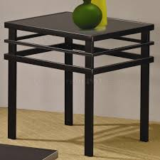 metal base u0026 glass top modern 3pc coffee table set