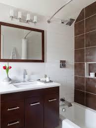 Small Bathroom Lights - modern small bathroom trends 2018 create the optical illusion of