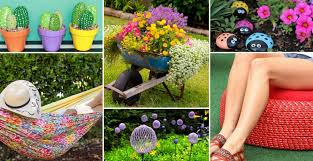 Easy Diy Garden Decorations 14 Easy U0026 Cheap Ideas That Will Transform Your Garden Expert