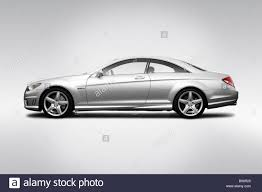 2009 mercedes cl63 amg 2009 mercedes cl class cl63 amg in silver drivers side