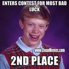 Bad Luck Meme - bad luck brian clean memes