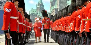 What Does The Red Stand For On The American Flag Canada The Royal Family