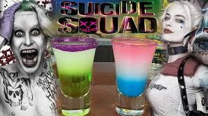 squad shots the joker and harley quinn outtakes https