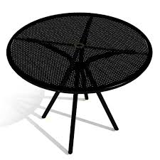 36 round cafe table american tables and seating ab36 36 black round outdoor table