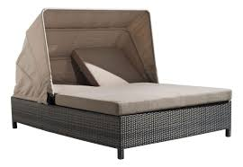 Oversized Chaise Lounge Sofa Furniture Gray Rattan Wicker Outdoor Chaise Lounge With Short