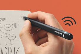 pen writing on paper moleskine smart writing set hands on youtube