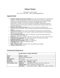 quality assurance resume sle cover letter for qa tester quality assurance resume