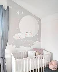 quelle décoration pour une chambre de bébé fresque murale