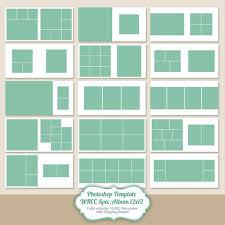 12 X 12 Photo Album Instant Download 12x12 Square Album Template For Photographers