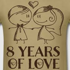 8th anniversary gift shop 8 year wedding anniversary gifts online spreadshirt
