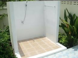 Pool Bathroom Ideas Outdoor Bathroom For Pool Outdoor Bathroom And Open Shower For
