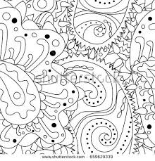 seamless pattern abstract ornaments stock vector 662026930