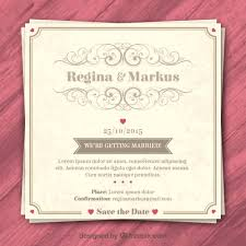 wedding invitations ebay vintage wedding invitation retro wedding invitation premium vector