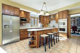 installing kitchen island how to install tile around a kitchen island articles