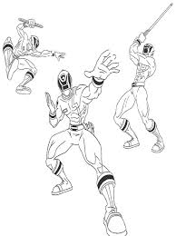 kids power rangers coloring pages