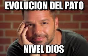 Ricky Martin Meme - evolucion del pato ricky martin meme on memegen