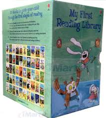 my first reading library 50 books set early readers learn to