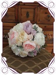 Artificial Peonies Amanda 6pc Set Flowers For Ever After U2013 Artificial Wedding