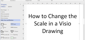 visio floor plan scale how to change drawing scale in visio professional ardalis