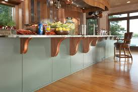 Kitchen Island Brackets Gourmet Kitchen Interior Designers Minneapolis Lilu Interiors
