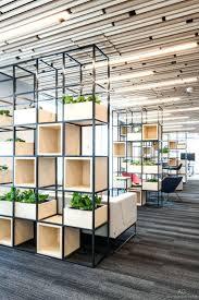 office design office separator ideas half wall room divider