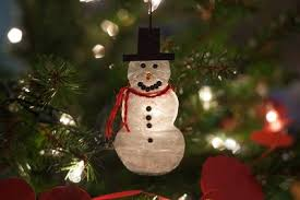 how to make a snowman ornament out of glue with pictures ehow