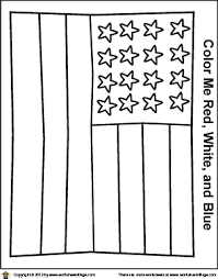 coloring pages american flag a simplified american flag coloring page